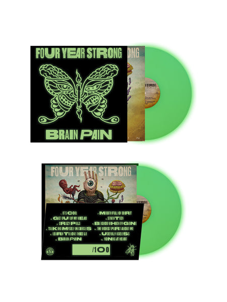 Four Year Strong - Brain Pain LP + Slipmat Bundle - SHIPS ON FEBRUARY 28 - Merch Limited
