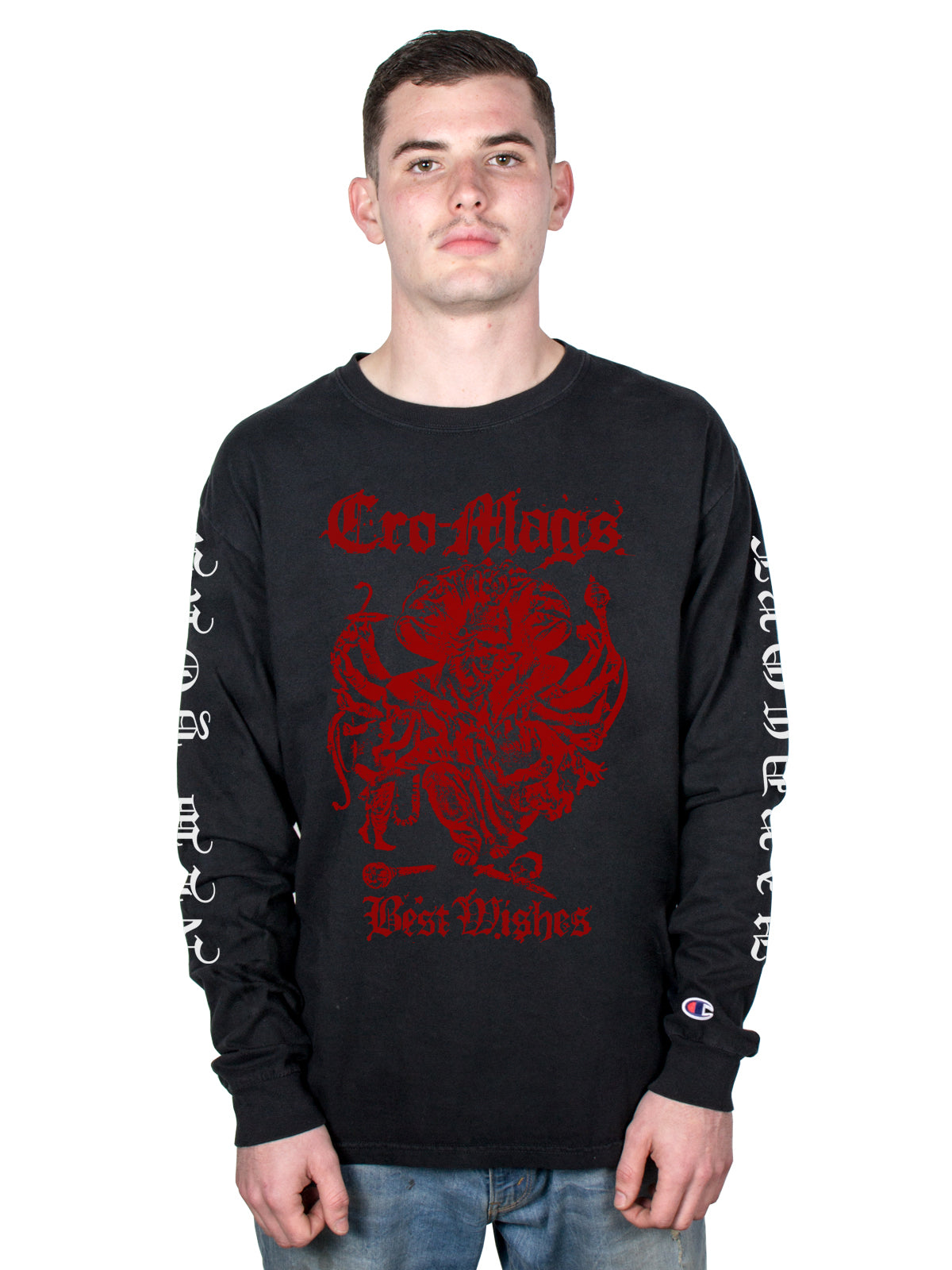 Cro-Mags - Down But Not Out Champion Longsleeve - Merch Limited