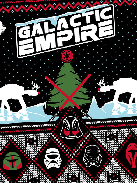 Galactic Empire - 2016 Holiday Crewneck - MerchLimited - 2