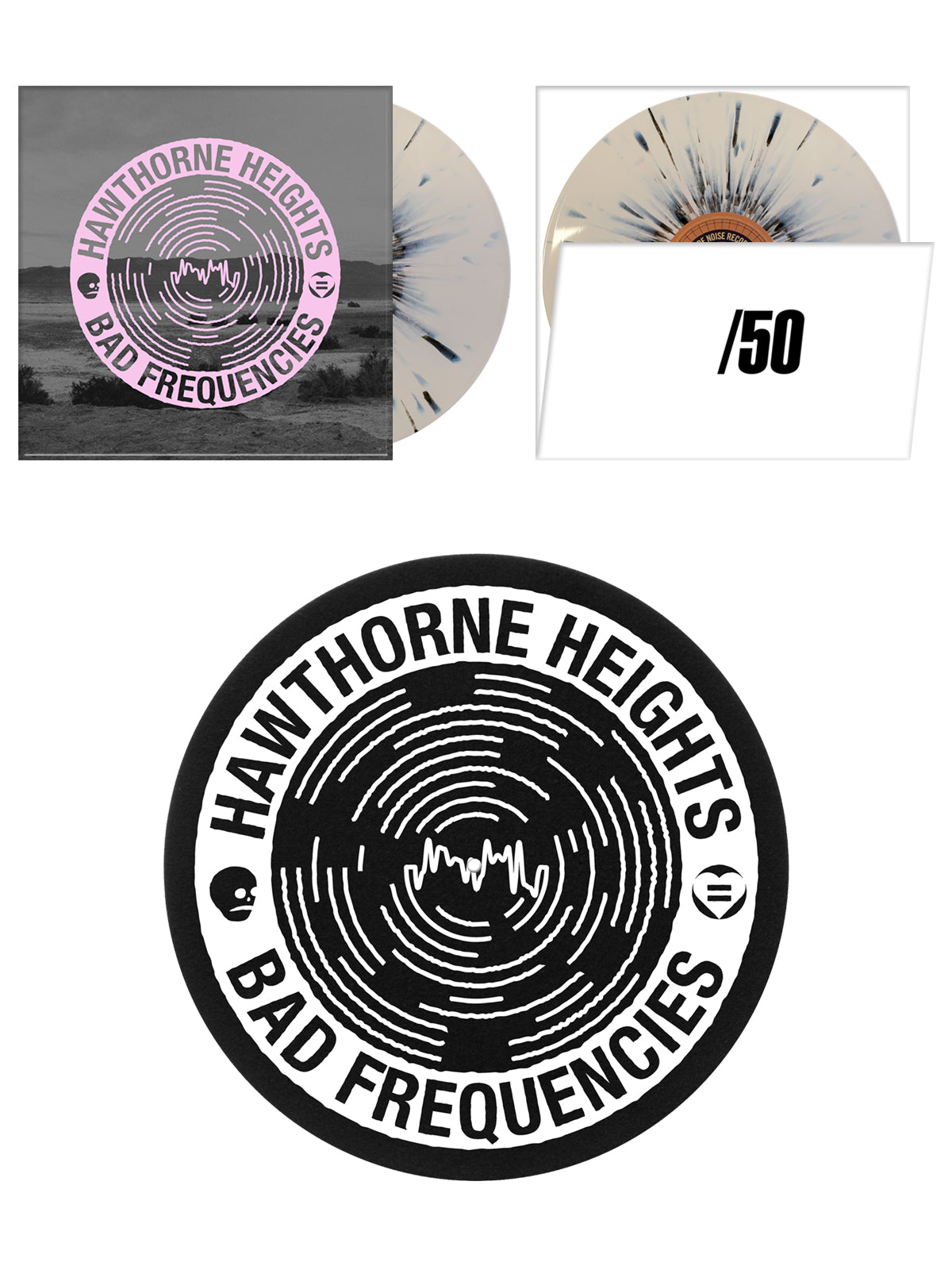 Hawthorne Heights - Bad Frequencies Vinyl Bundle - Merch Limited