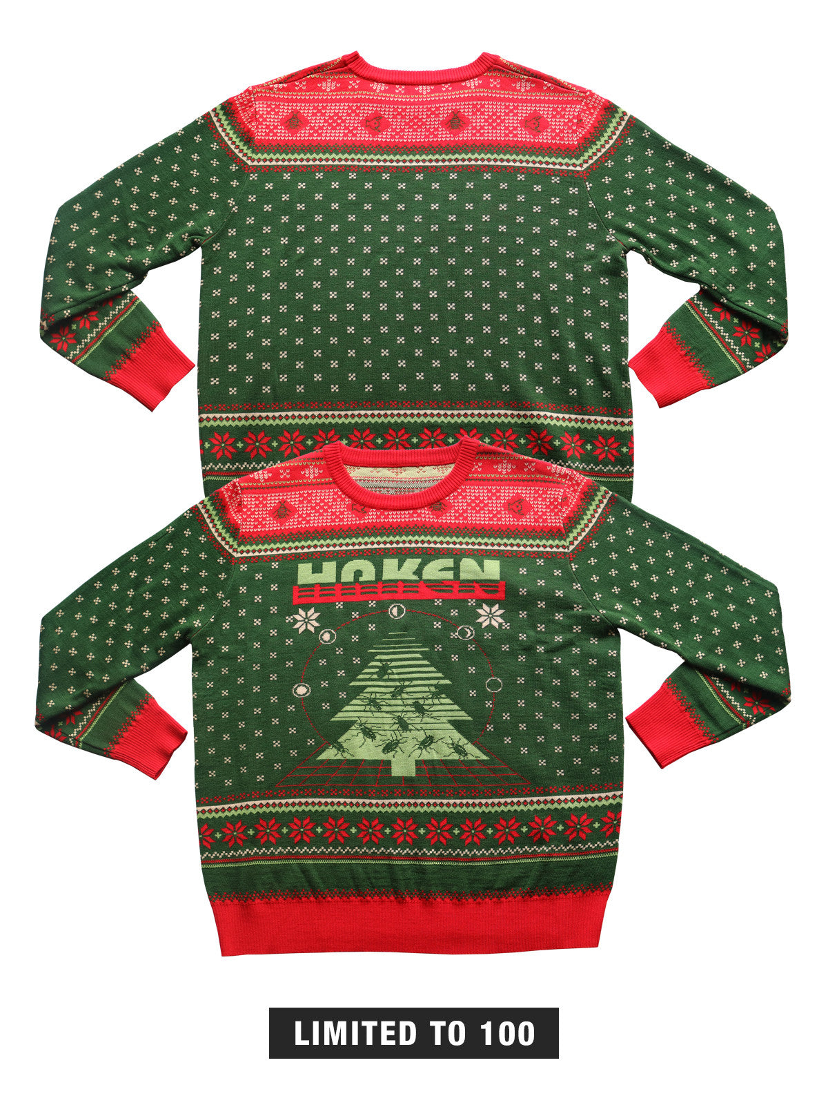 Haken - Acrylic Holiday Sweater - MerchLimited - 1