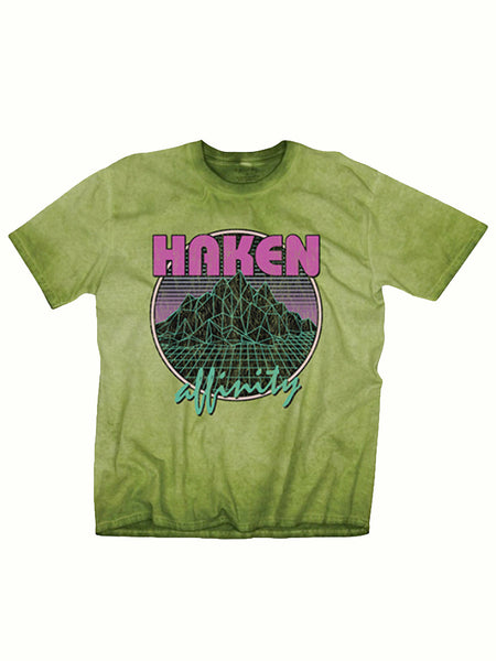 Haken - Affinity Pigment Dye Shirt - Halloween Sample Sale - MerchLimited
