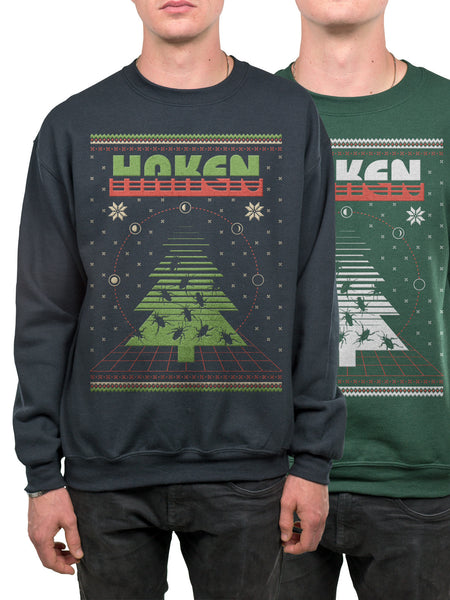 Haken - Screen Printed Holiday Crewneck - MerchLimited - 1