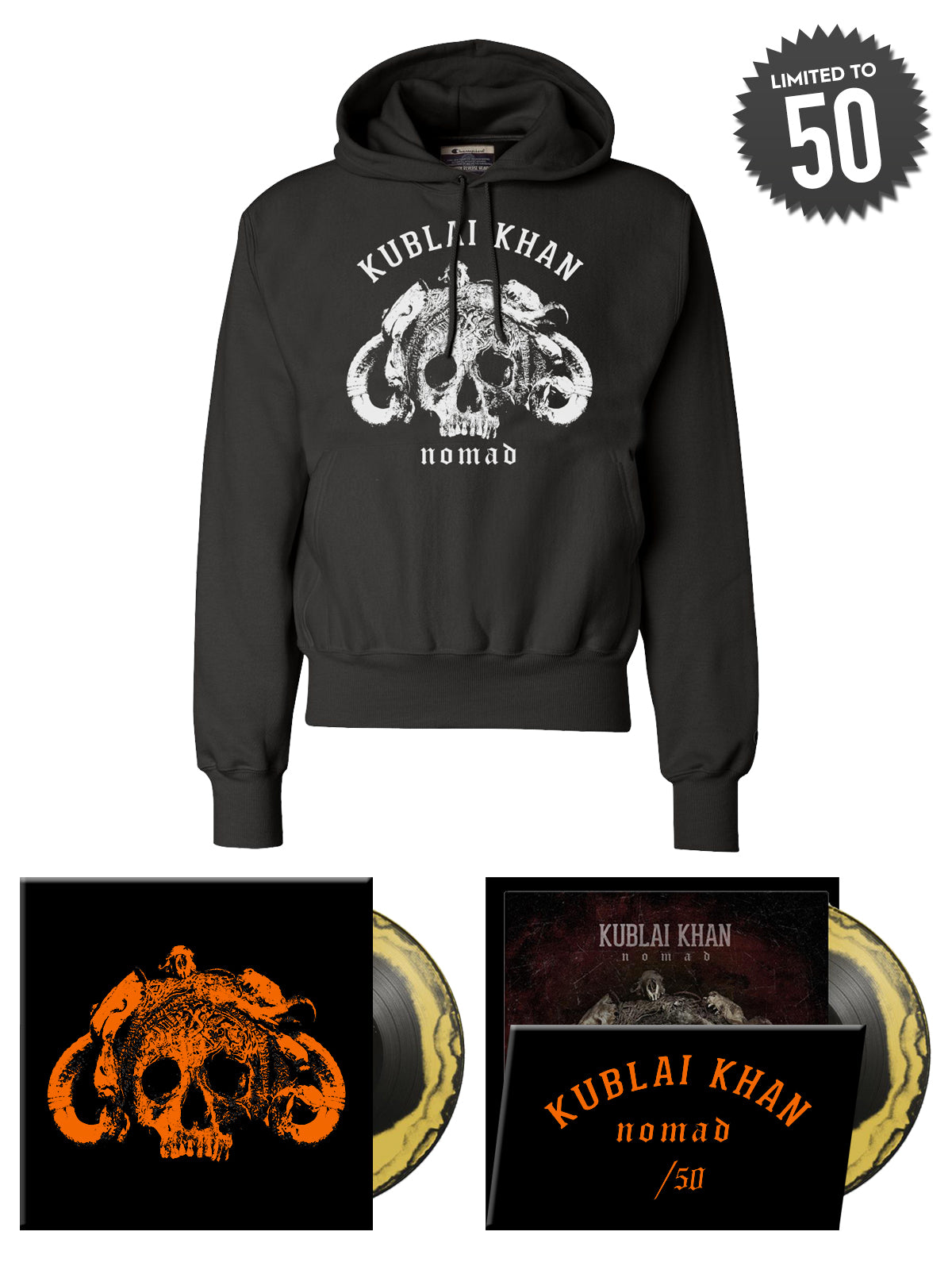 Kublai Khan - Nomad Vinyl Bundle - Merch Limited