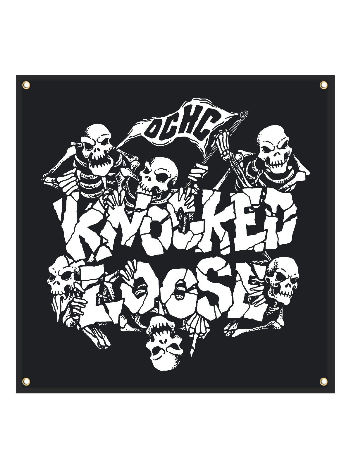 Knocked Loose - 48x48 Wall Flag - SHIPS NOVEMBER 20