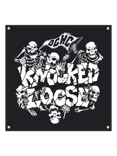 Knocked Loose - 48x48 Wall Flag