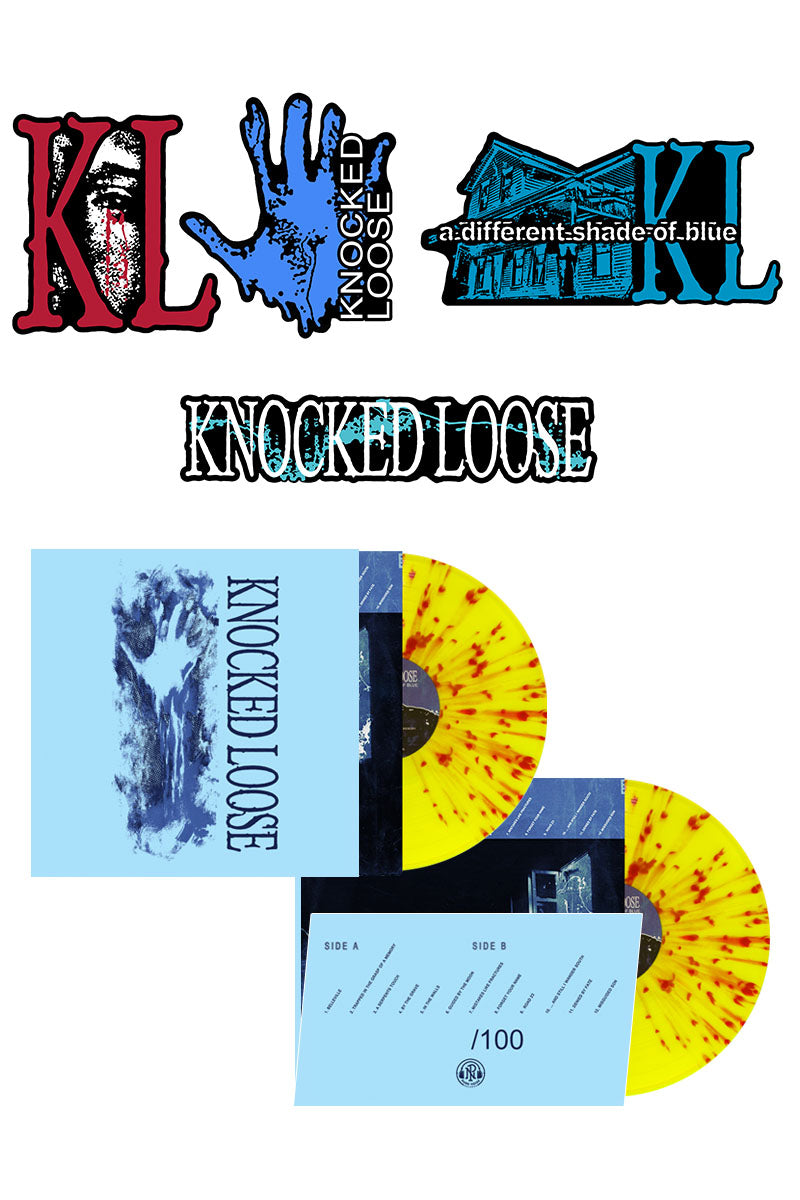 Knocked Loose - A Different Shade of Blue Preorder Bundle #3 - Merch Limited