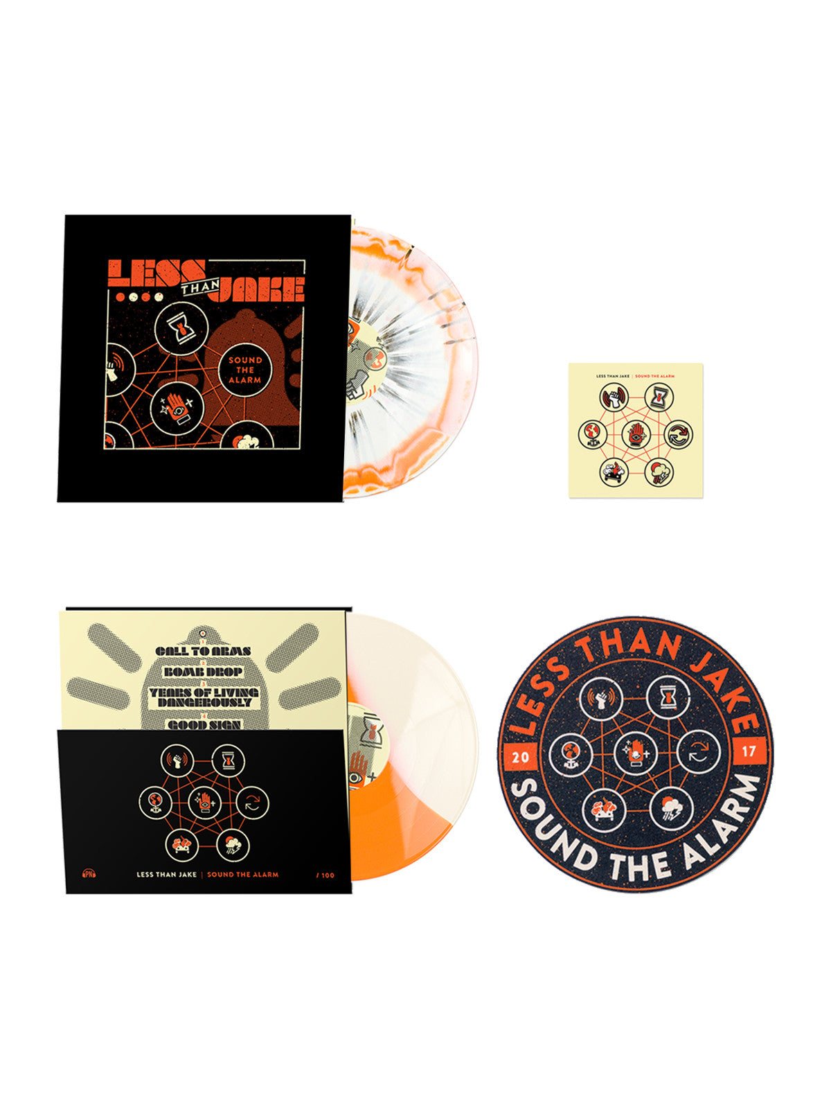 Less Than Jake - Sound the Alarm Bundle - MerchLimited - 1
