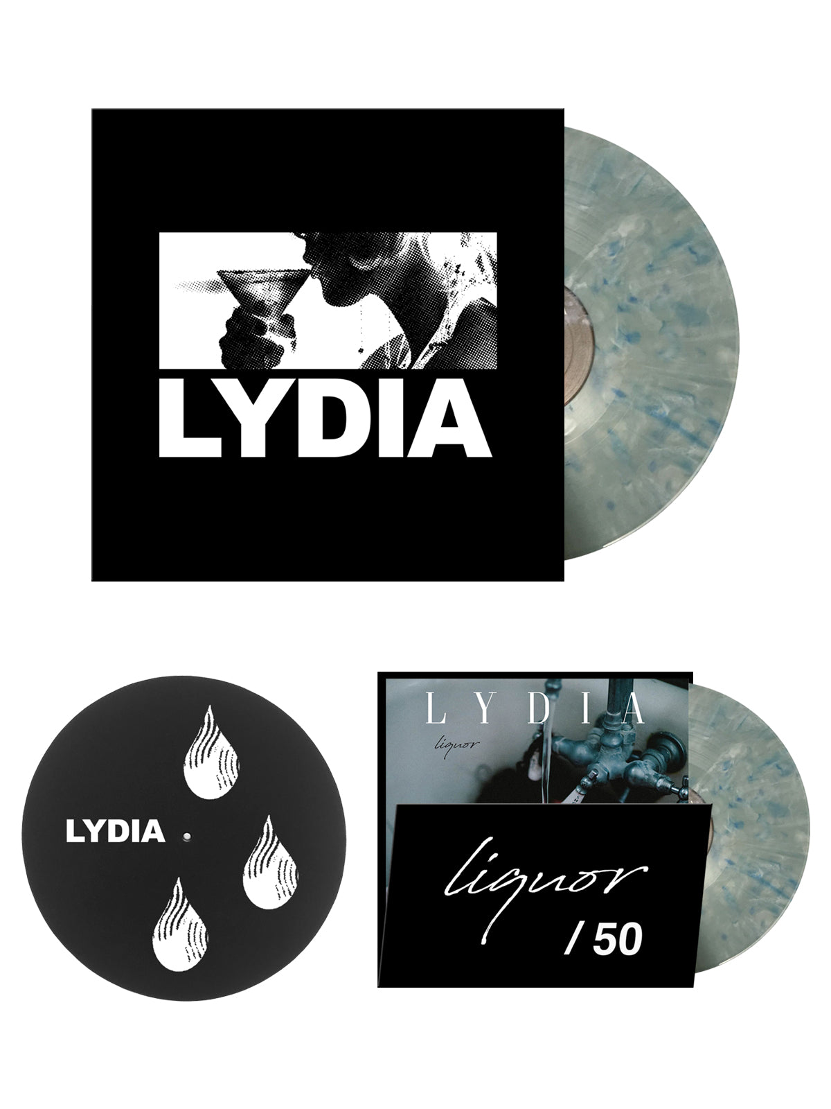 Lydia - Liquore LP Bundle - Merch Limited
