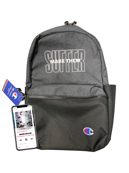 Make Them Suffer - Champion Backpack Bundle - SHIPS JULY 10