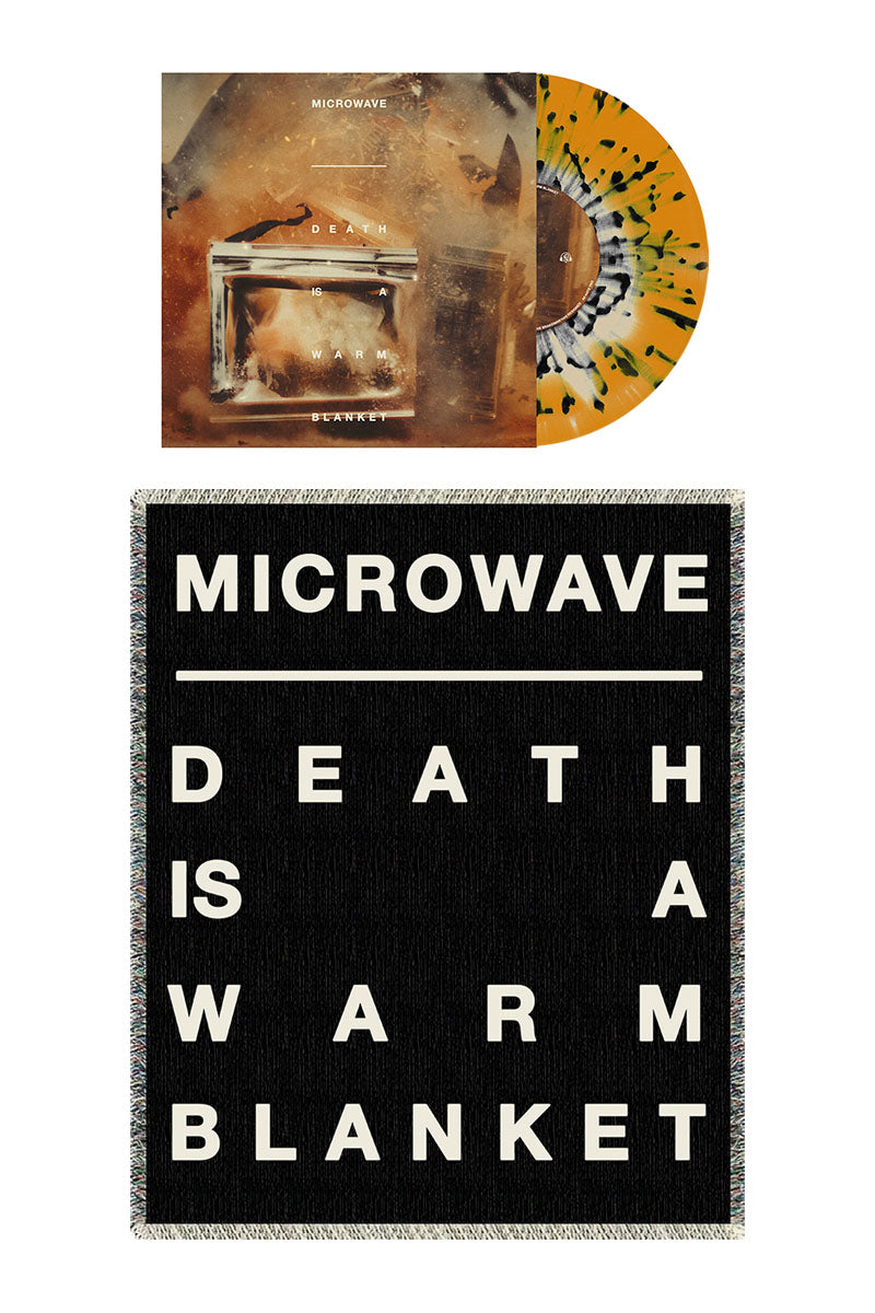 Microwave - Vinyl and Woven Blanket Bundle - Merch Limited