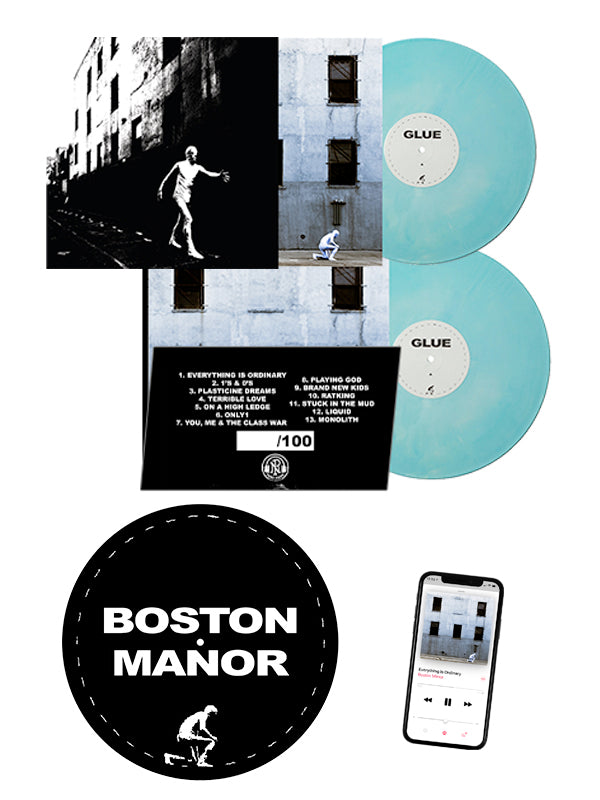 Boston Manor - Glue LP + Slipmat Bundle - SHIPS MAY 5 - Merch Limited