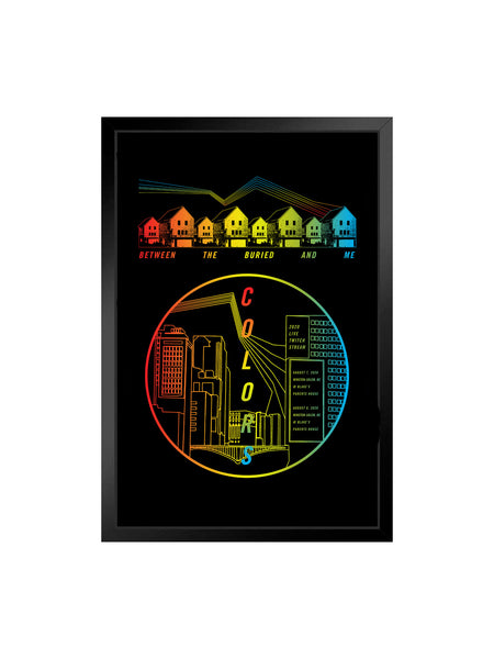 Between the Buried and Me - 18x24 Autographed Screen Printed Poster (2nd Press) - SHIPS AUGUST 24