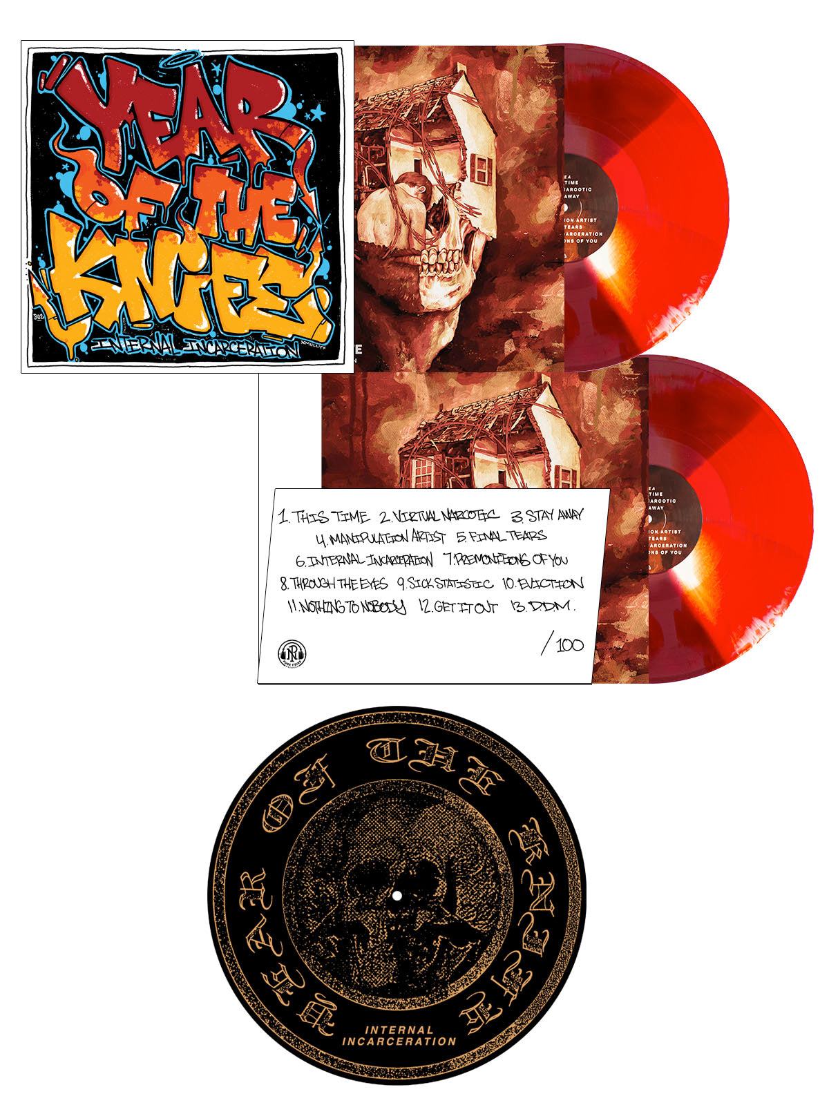 Year of the Knife - LP + Slipmat Bundle - SHIPS AUGUST 7