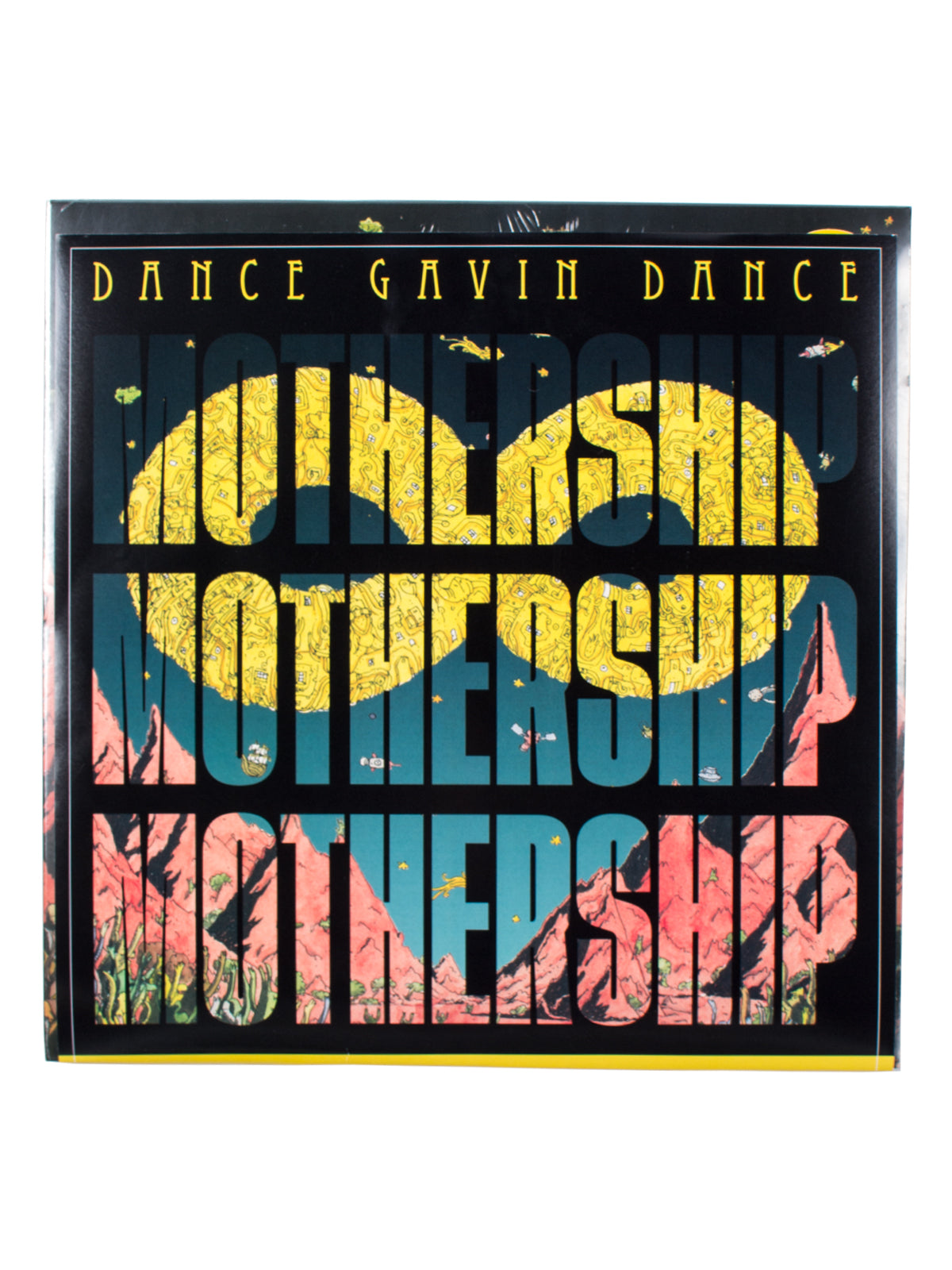 Dance Gavin Dance - Mothership Alternate Cover Vinyl LP - Merch Limited