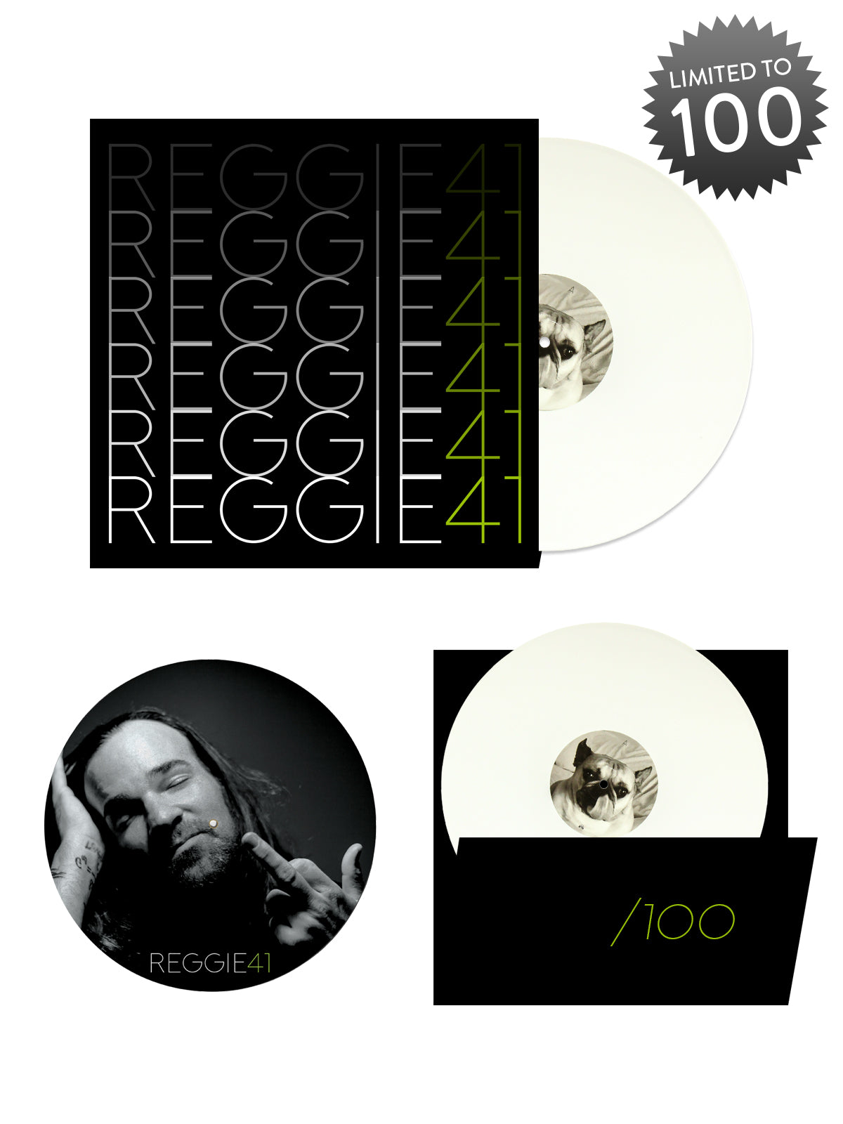 Reggie & The Full Effect - 41 Vinyl Bundle - Merch Limited