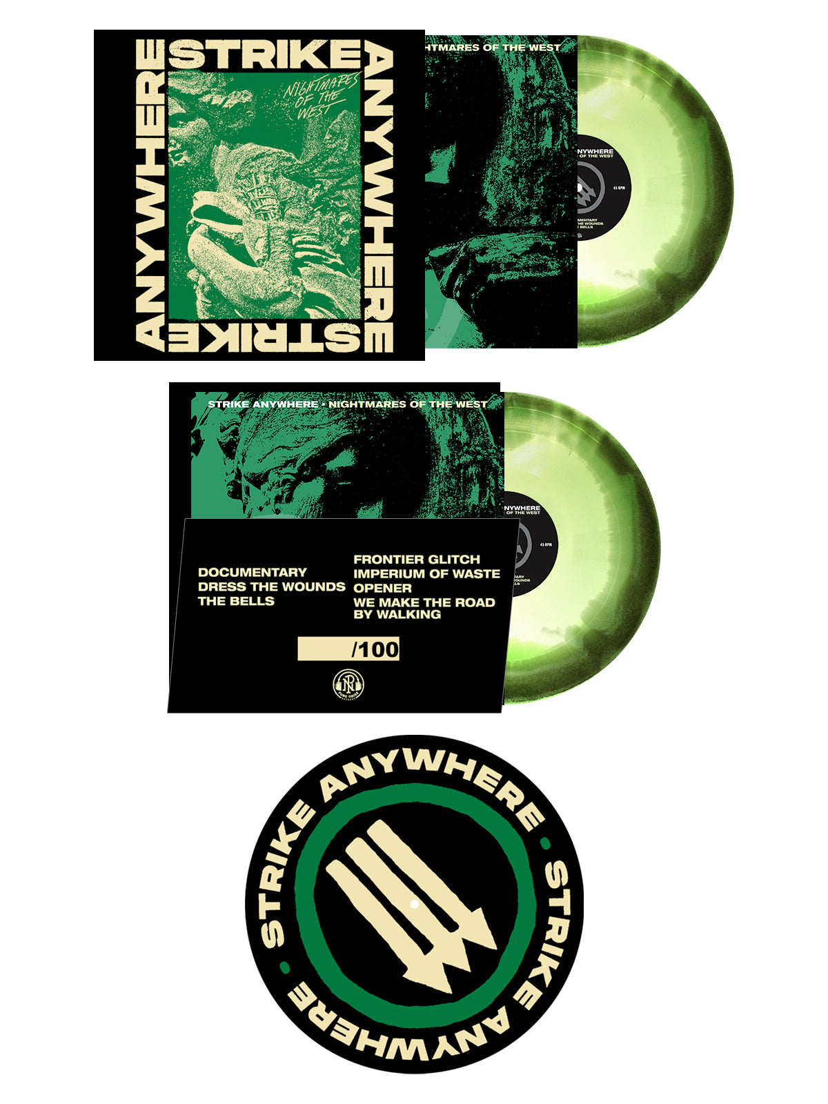 Strike Anywhere - LP + Slipmat Bundle - SHIPS AUGUST 17