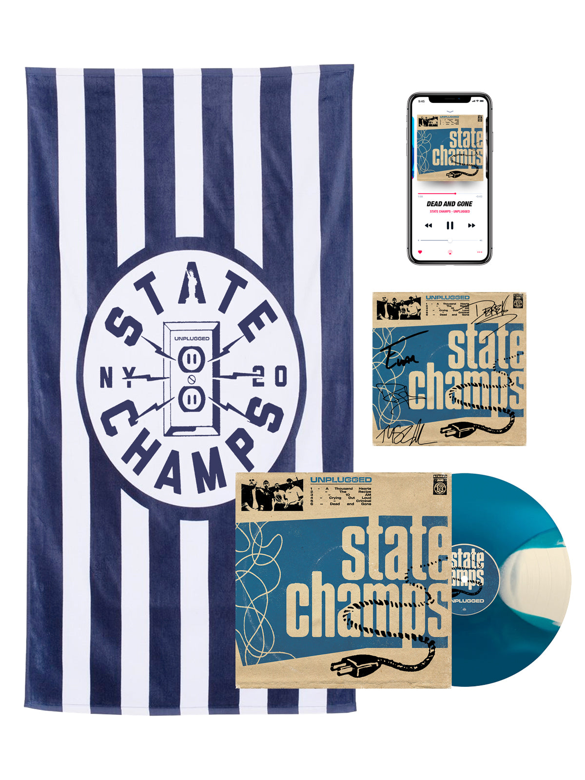 State Champs - Unplugged Bundle #3 - SHIPS SEPTEMBER 7
