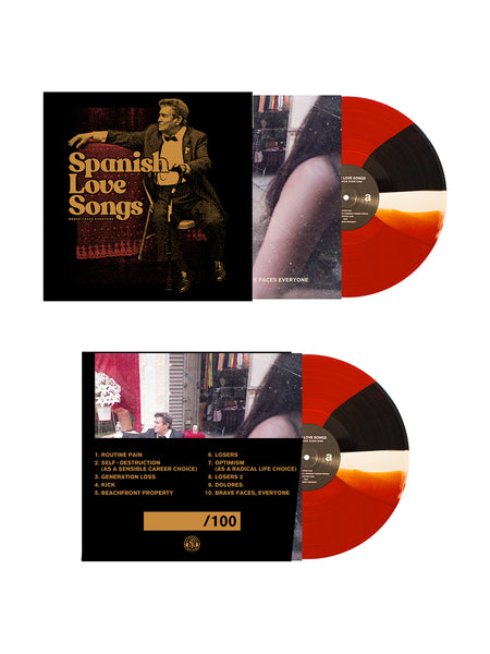 Spanish Love Songs - Brave Faces Everyone LP + Slipmat Bundle - SHIPS FEBRUARY 16 - Merch Limited