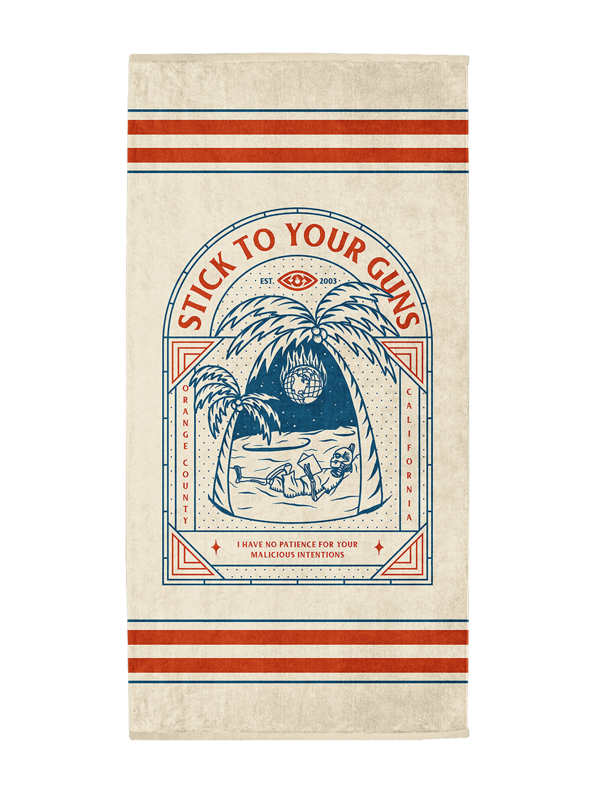 Stick to Your Guns - Beach Towel - Merch Limited