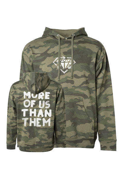 Stick to Your Guns - More of Us Than Them Hoodie (Camo) - Merch Limited