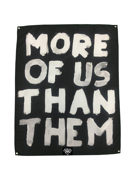 Stick to Your Guns - More of Us Than Them Wall Flag - SHIPS MAY 12 - Merch Limited
