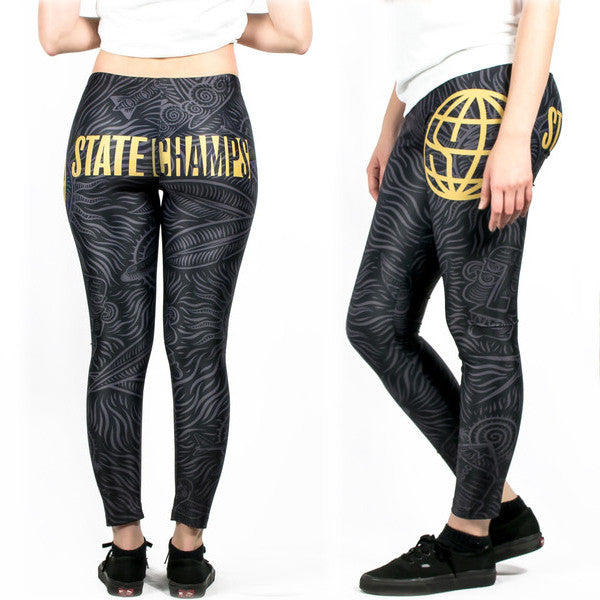 State Champs - Logo Leggings - MerchLimited - 1