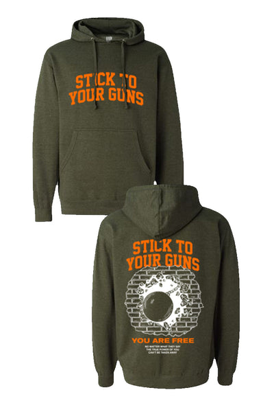 Stick to Your Guns - You Are Free Hoodie - Merch Limited