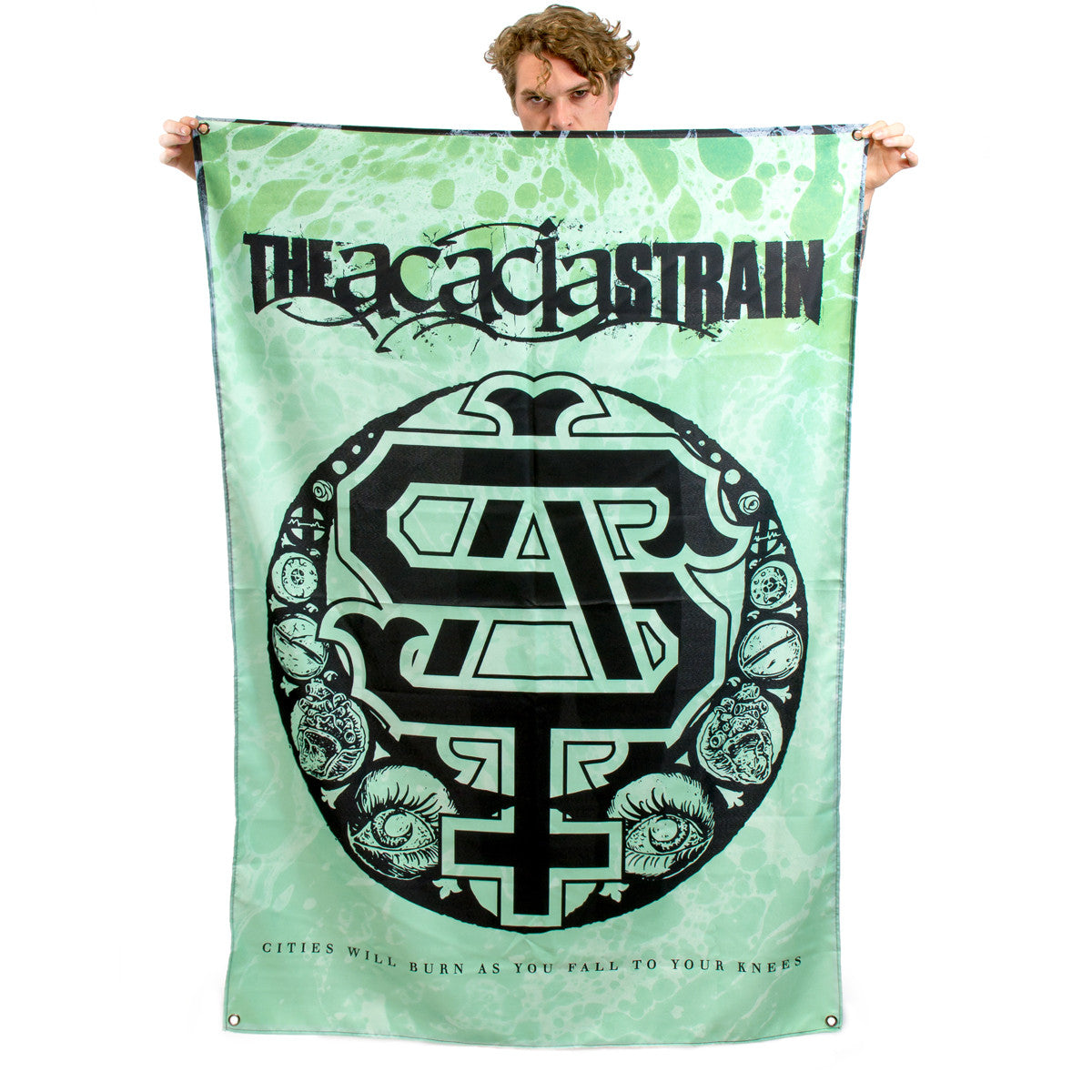 The Acacia Strain - Cities Will Burn Wall Flag - Merch Limited