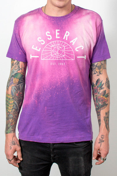 TesseracT - Minimalist Galaxy Bleach Shirt - Merch Limited
