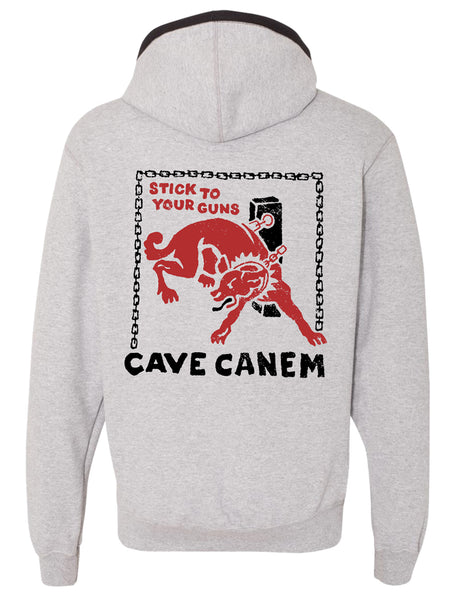 Stick to Your Guns - Cave Canem Champion Hoodie - Merch Limited