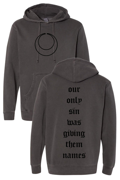 The Acacia Strain - It Comes In Waves Pigment Dyed Hoodie (Black)