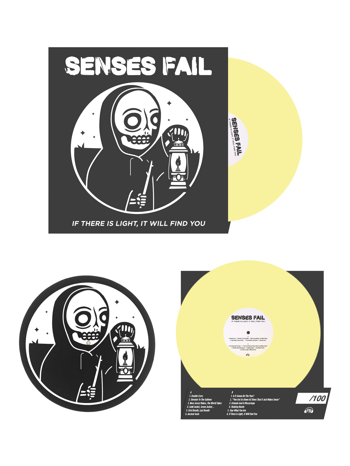 Senses Fail - If There Is A Light, It Will Find You Bundle - Merch Limited