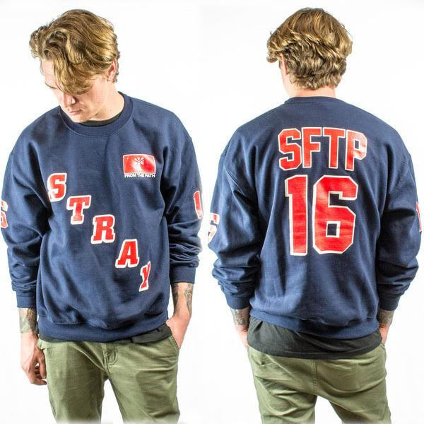 Stray From The Path - Rangers Crewneck - MerchLimited - 2