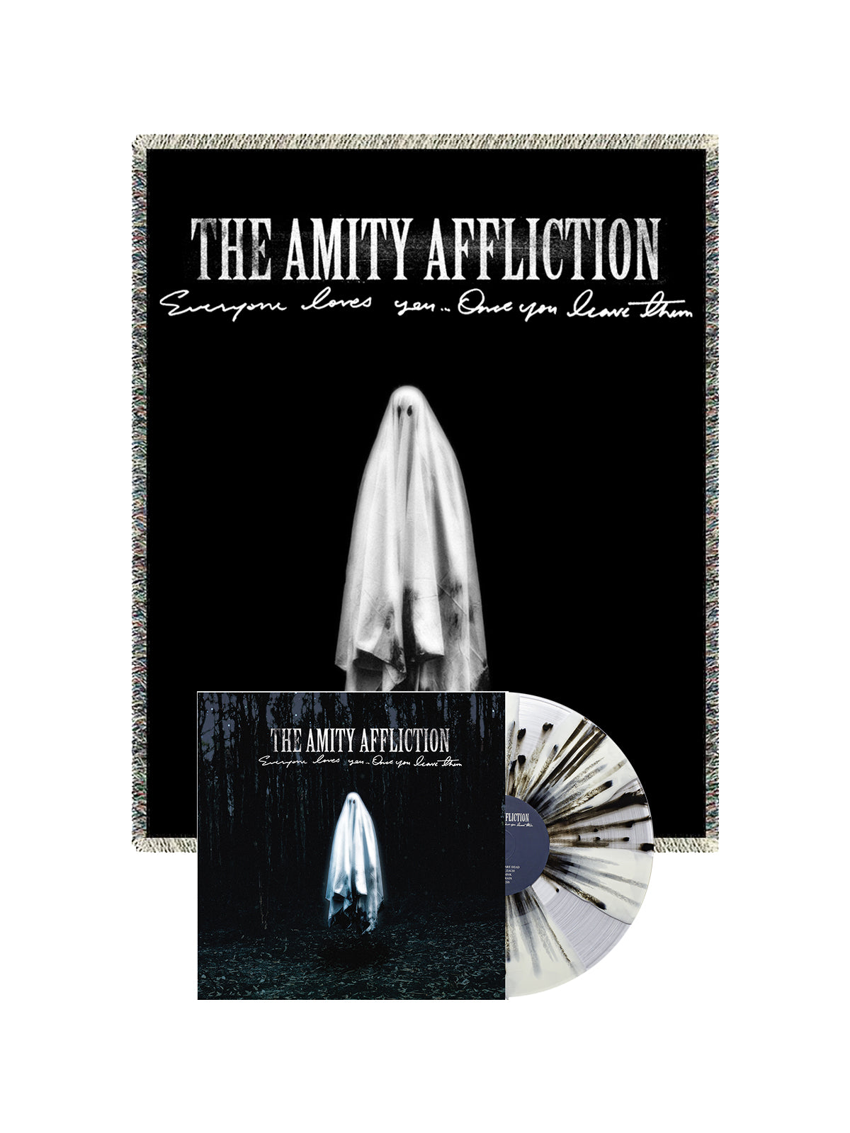 The Amity Affliction - LP + Blanket Bundle - SHIPS APRIL 12 - Merch Limited
