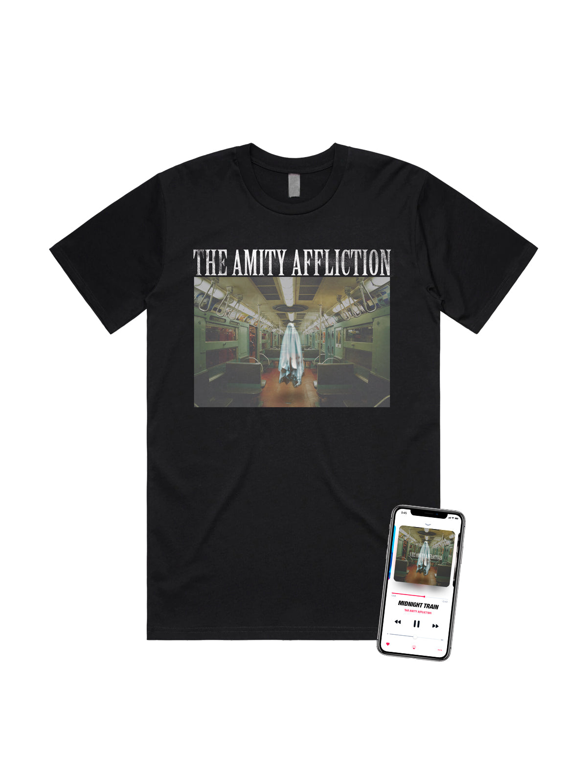 The Amity Affliction - Midnight Train Shirt + Download - SHIPS NOVEMBER 30