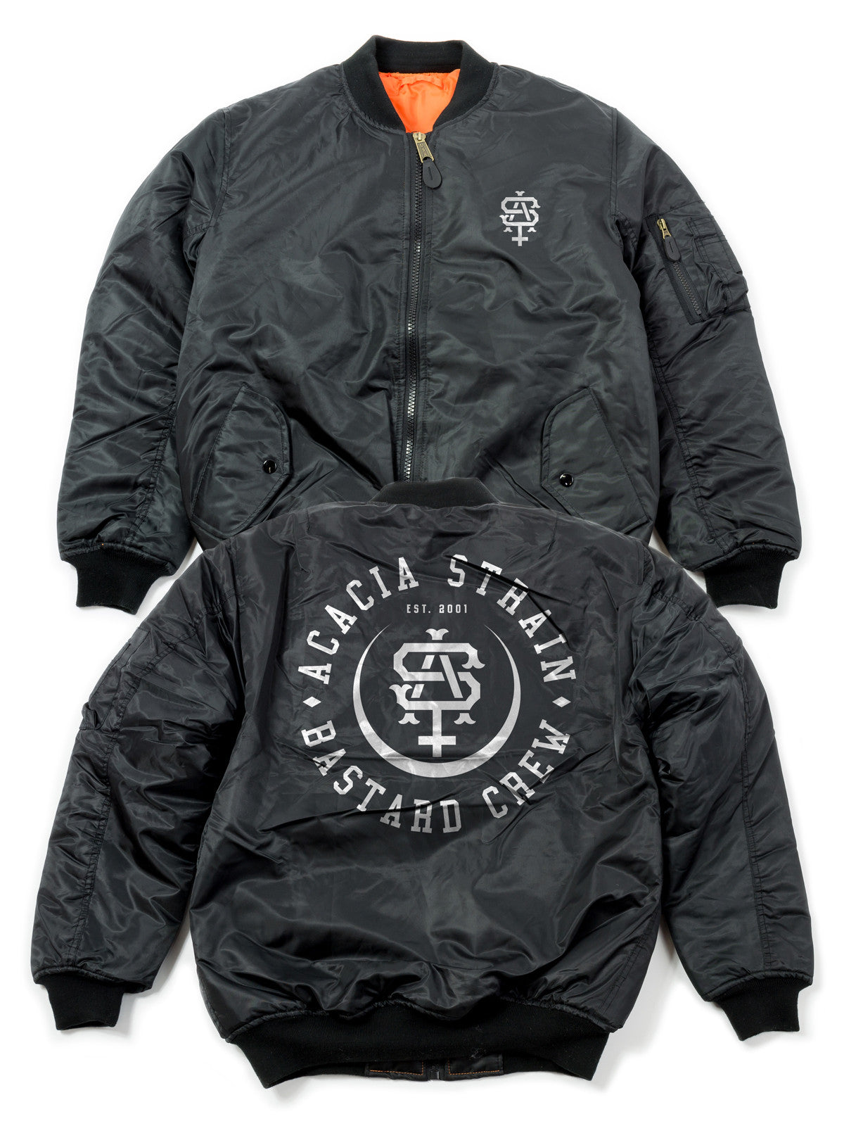 The Acacia Strain - Bastard Crew Bomber Jacket - MerchLimited - 1
