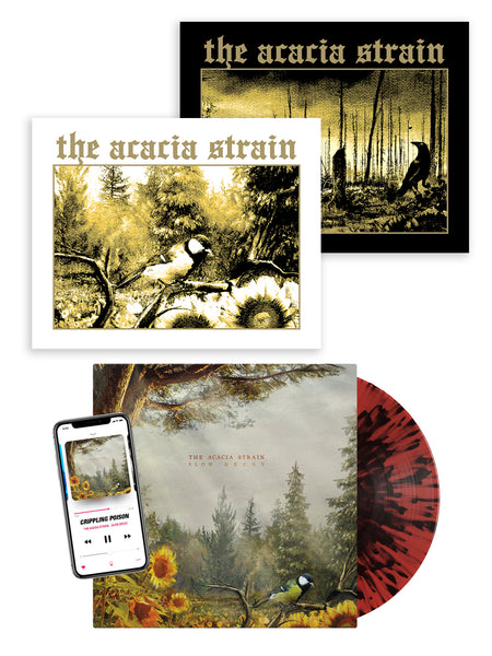 The Acacia Strain - Slow Decay Print Set - SHIPS SEPTEMBER 30