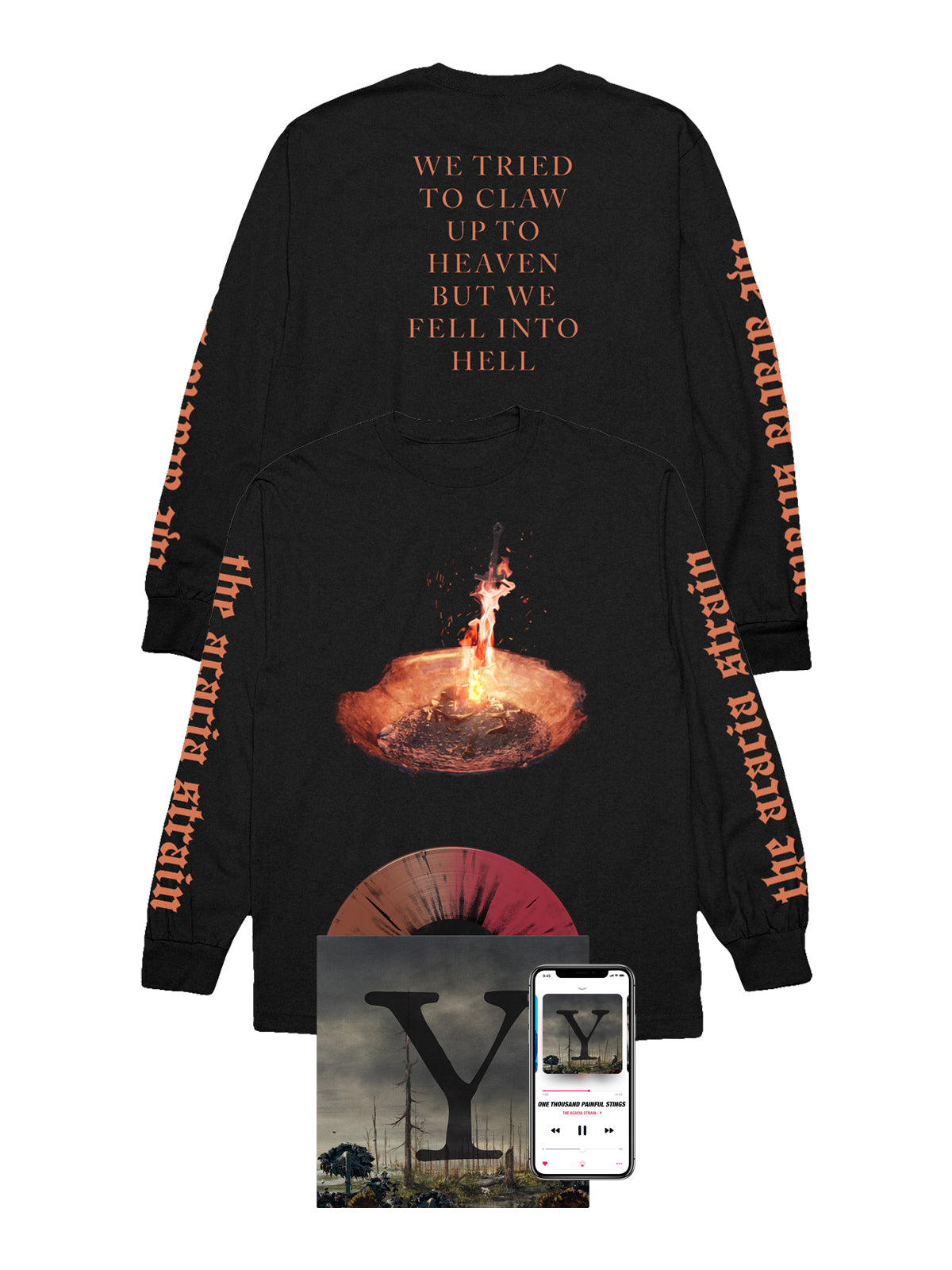 The Acacia Strain - Y Longsleeve Bundle - SHIPS AUGUST 10