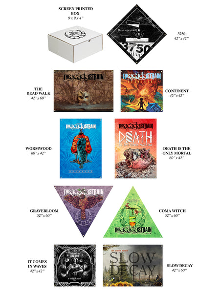 The Acacia Strain - Wall Flag Collection - SHIPS NOVEMBER 10