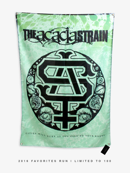 The Acacia Strain - Cities Burn Wall Flag - 2016 Favorites Edition - MerchLimited - 1