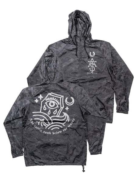 The Acacia Strain - Black Camo Windbreaker - Merch Limited