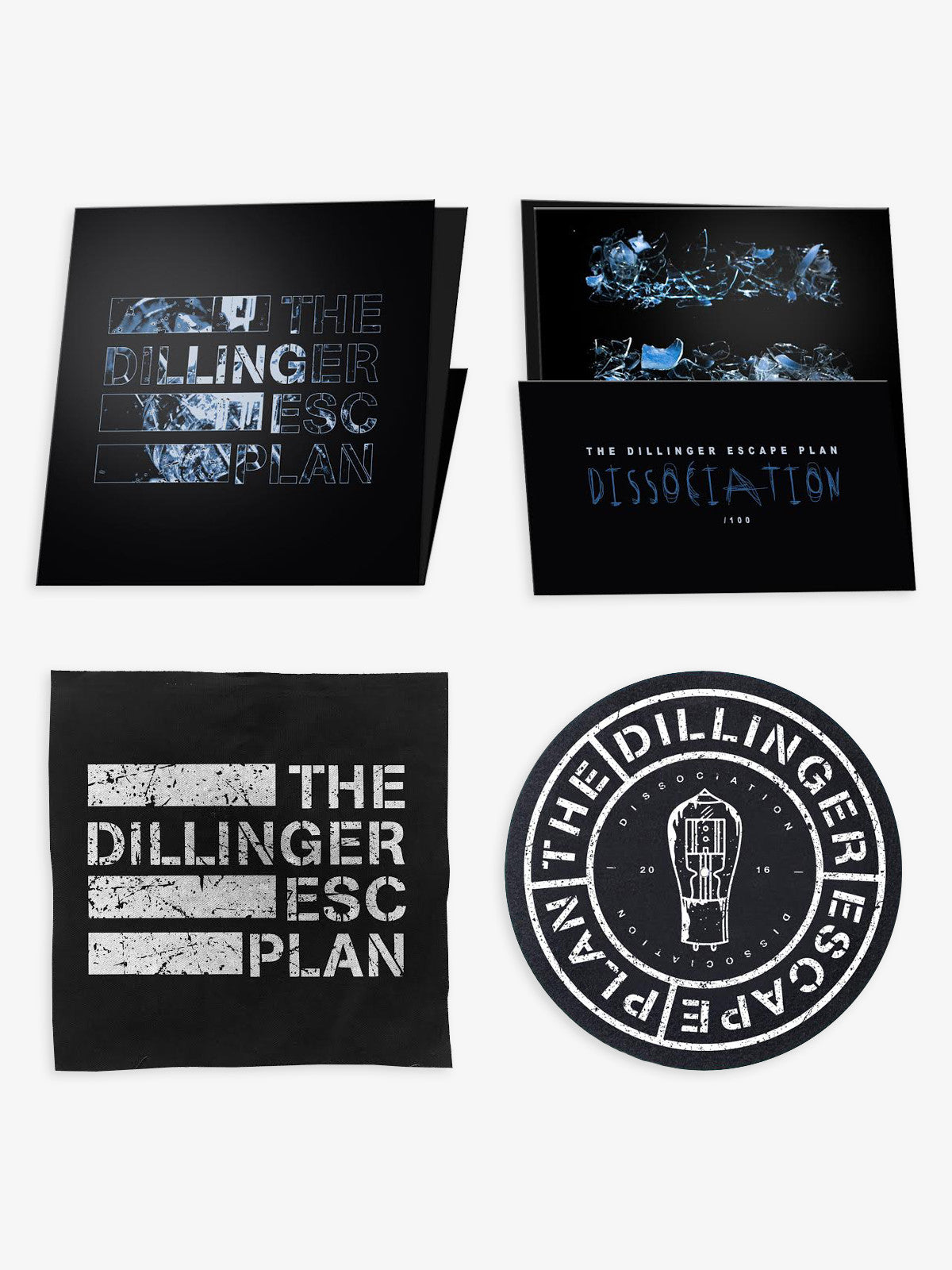 The Dillinger Escape Plan - Dissociation Vinyl Bundle - MerchLimited - 1