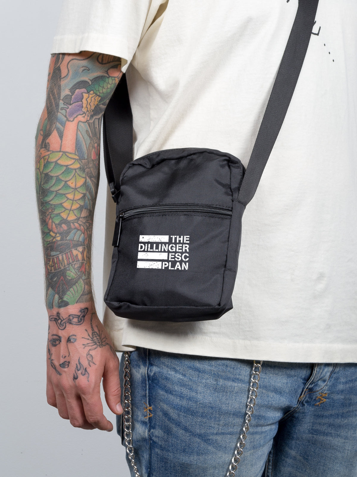 Dillinger Escape Plan - Mini Messenger Bag - Merch Limited