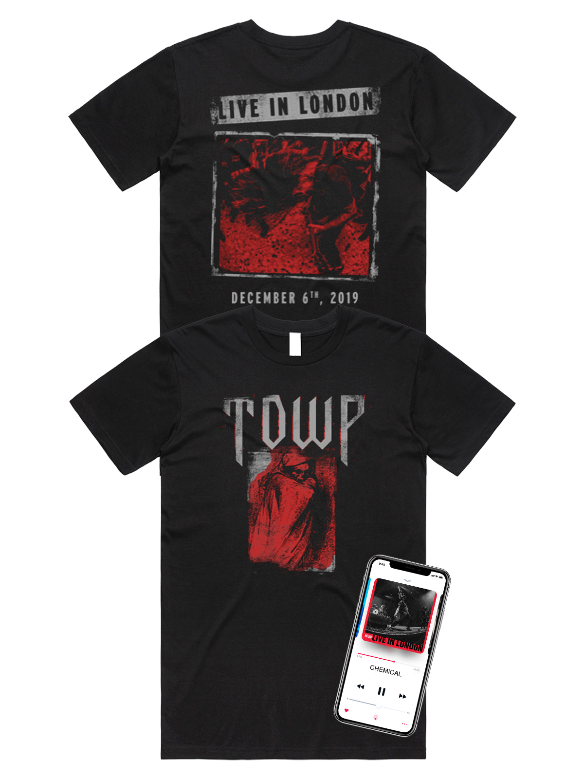 The Devil Wears Prada - Live In London Shirt + Download - SHIPS MAY 10 - Merch Limited