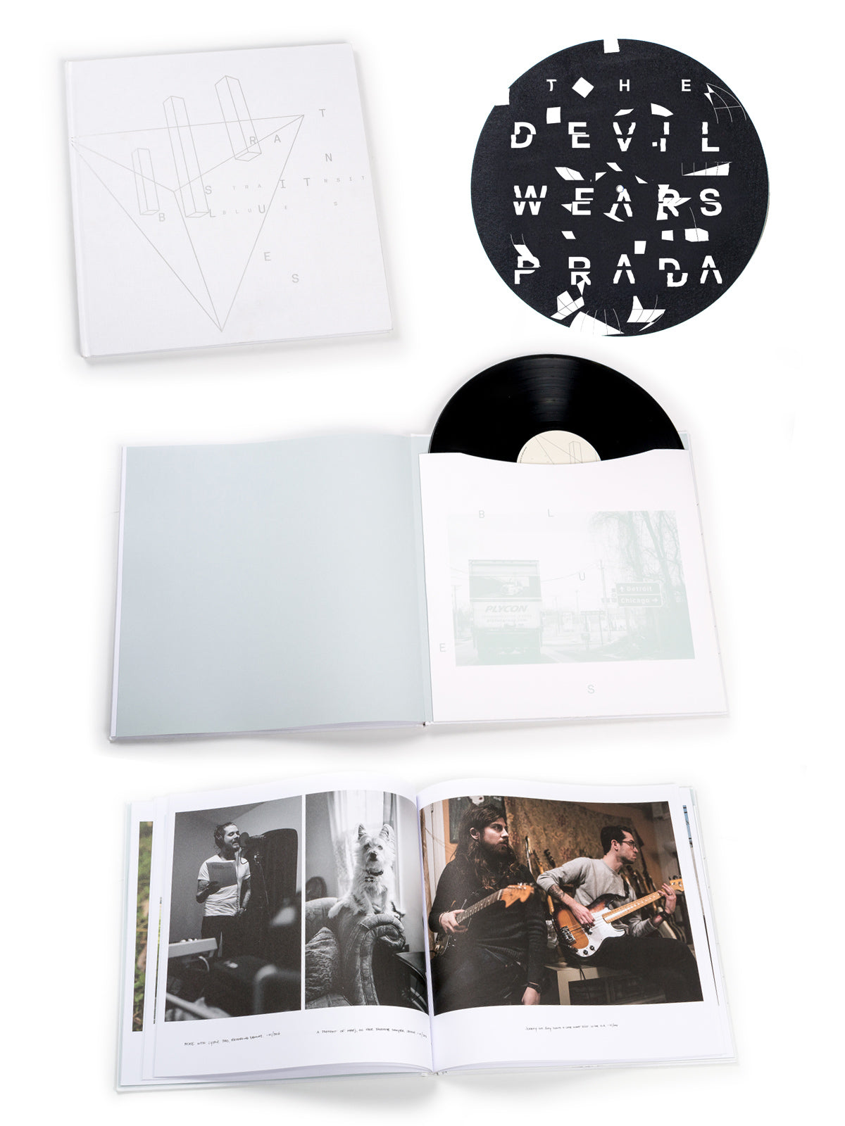 The Devil Wears Prada - Transit Blues Deluxe Photobook Bundle - Merch Limited