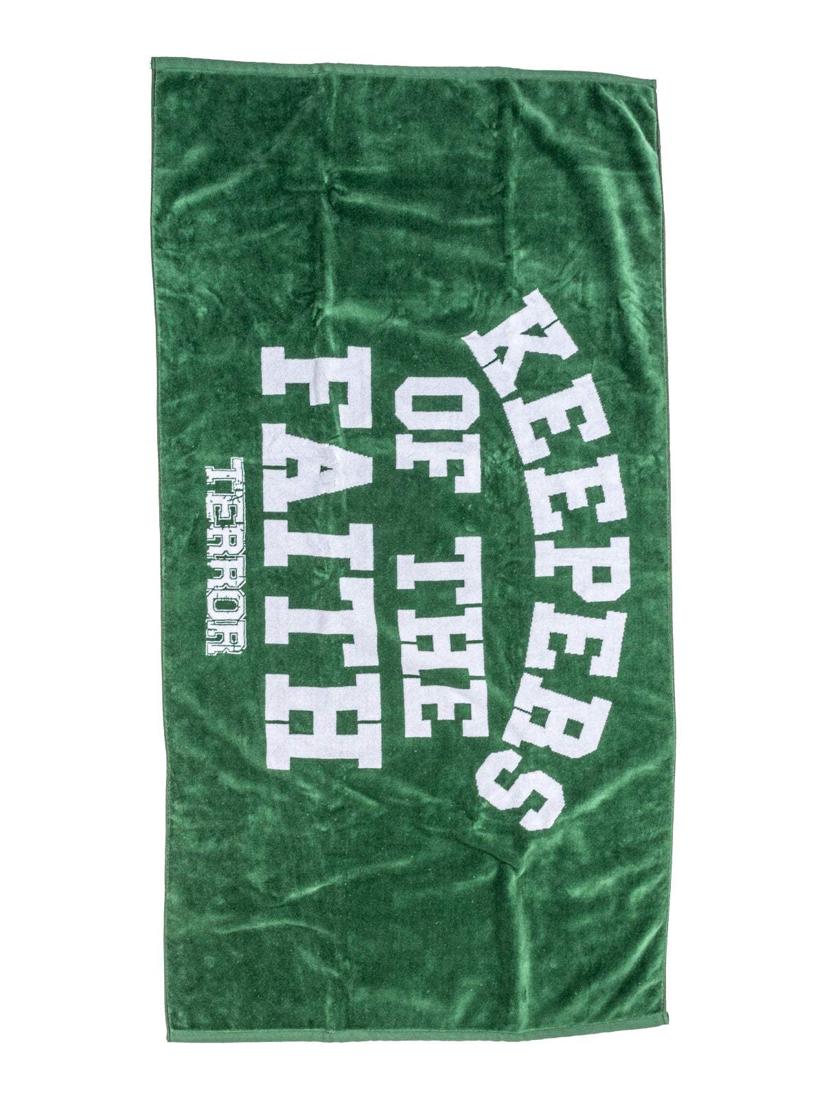 Terror - KOTF Beach Towel (Forest Green) - Merch Limited