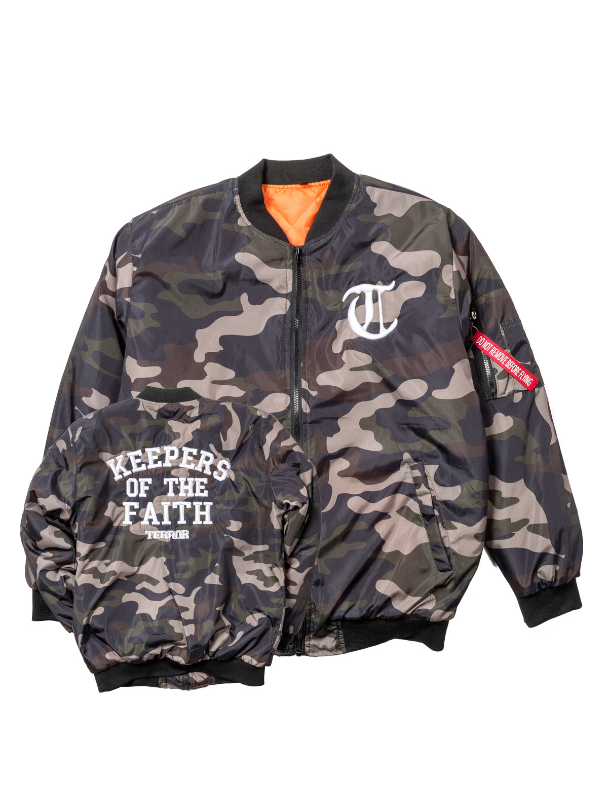 Terror - KOTF Camo Bomber Jacket - Merch Limited