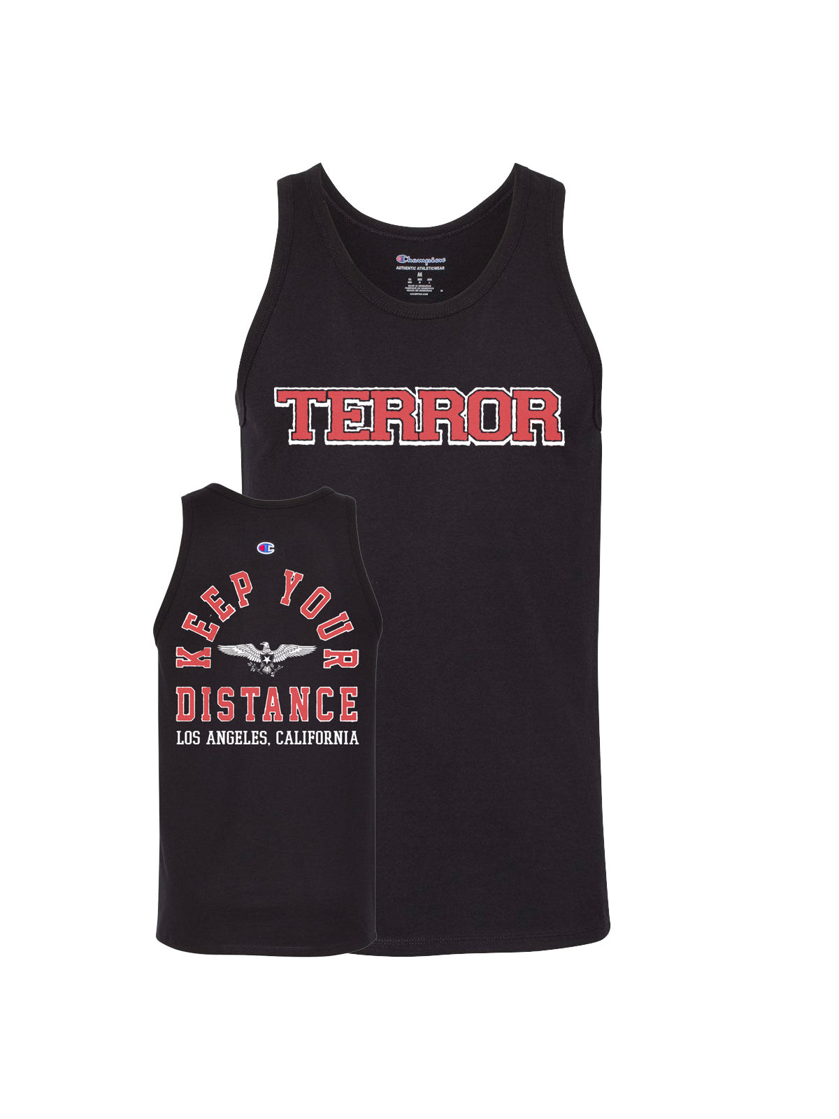 Terror - Keep Your Distance Tank Top - SHIPS AUGUST 24