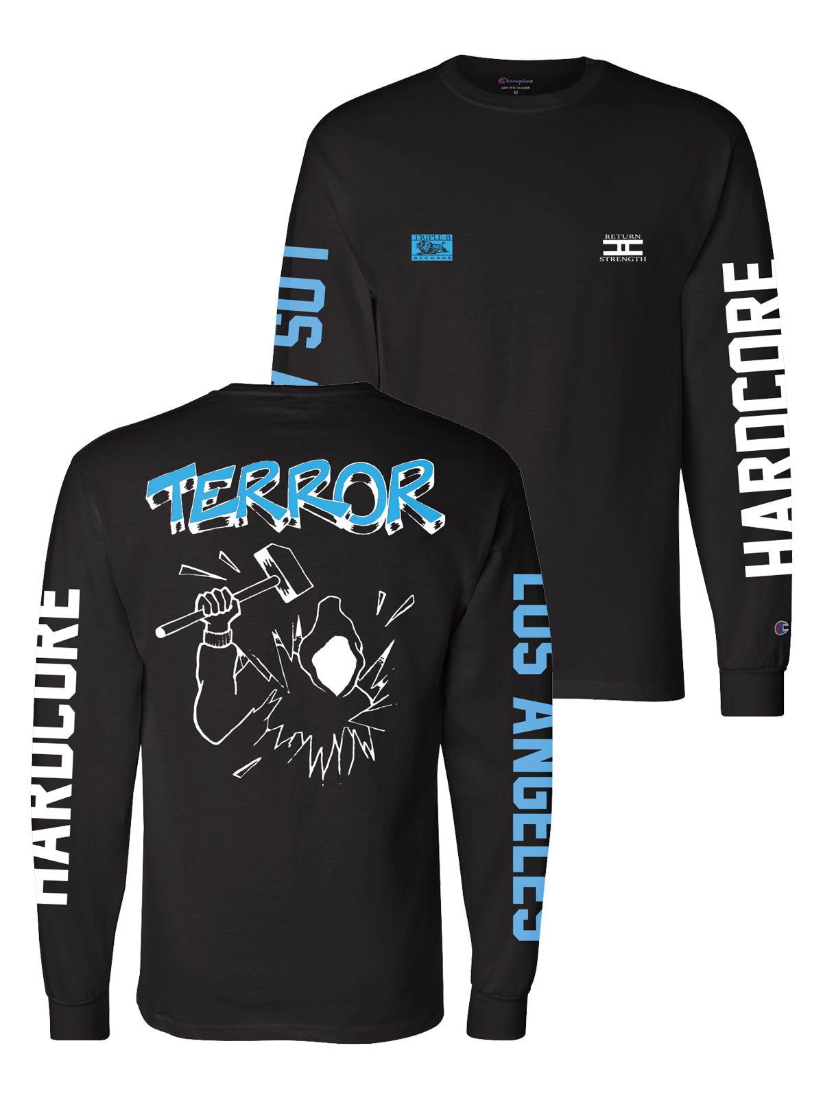 Terror - Return to Strength Champion Longsleeve - Merch Limited